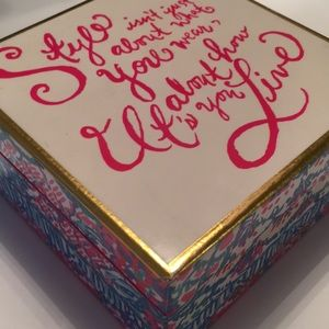 Lilly Pulitzer Accessories - Lilly Pulitzer Jewelry Box
